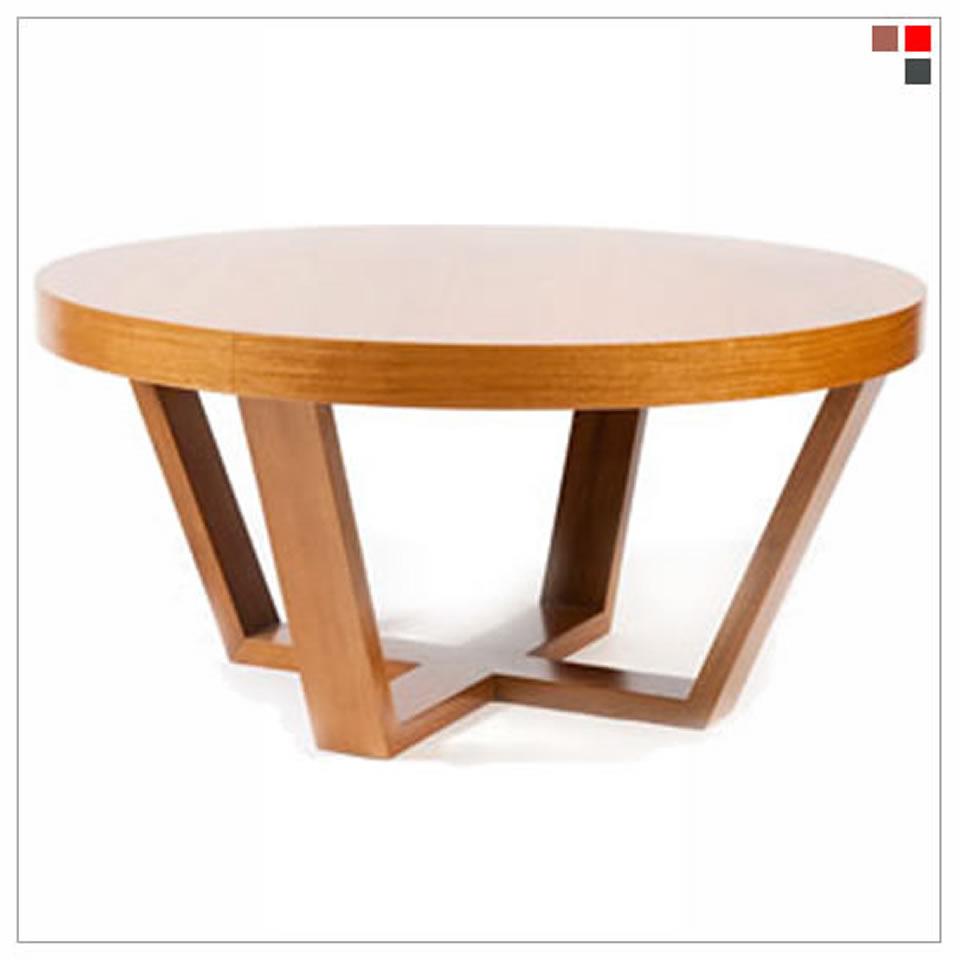 Jaim srl mesa redonda baja for Mesas bajas de diseno